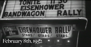 Eisenhower MSG '52 Rally -- Stars!